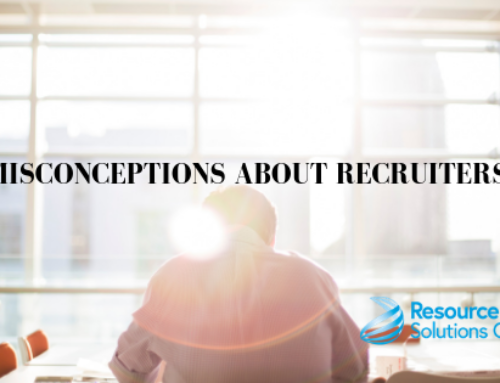 What recruiters do- Common misconceptions